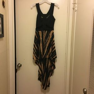 Reverse High Low Dress Size Small